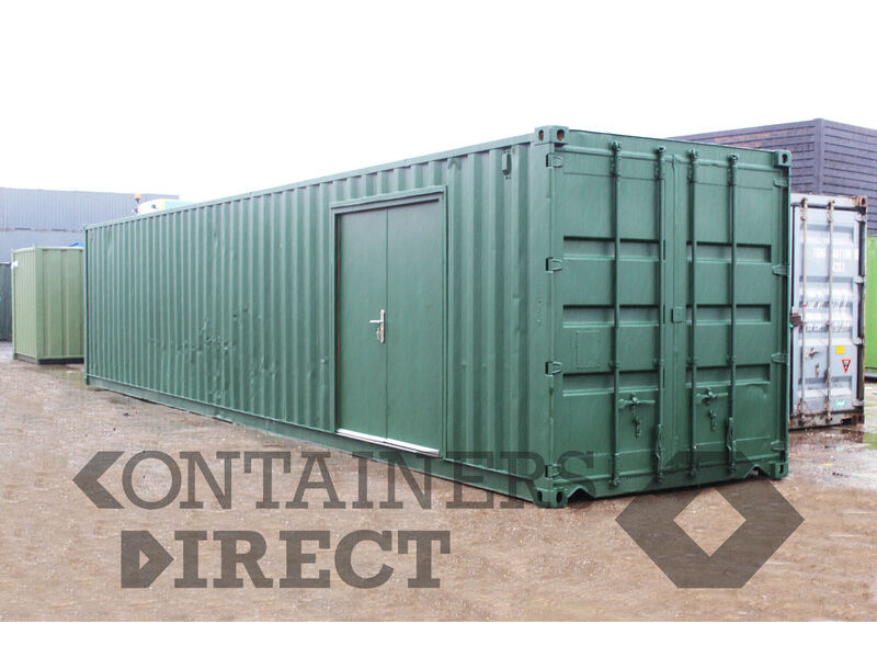 Shipping Container Conversions 40ft cheese making factory click to zoom image