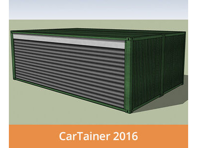Shipping Container Conversions CarTainer[REG] 2016