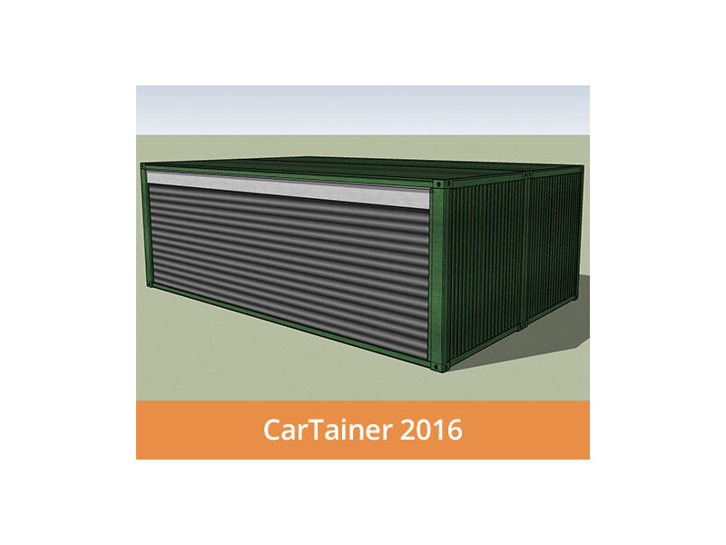 Shipping Container Conversions CarTainer[REG] 2016 click to zoom image