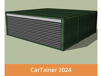 Shipping Container Conversions CarTainer[REG] 2024