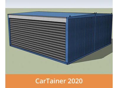 Shipping Container Conversions CarTainer[REG] 2020