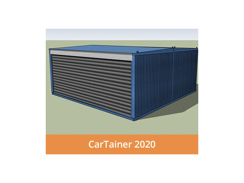 Shipping Container Conversions CarTainer[REG] 2020 click to zoom image