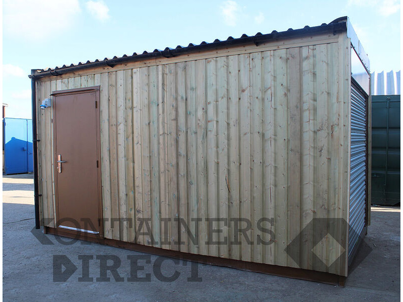 Shipping Container Conversions 15ft garden split office/store click to zoom image