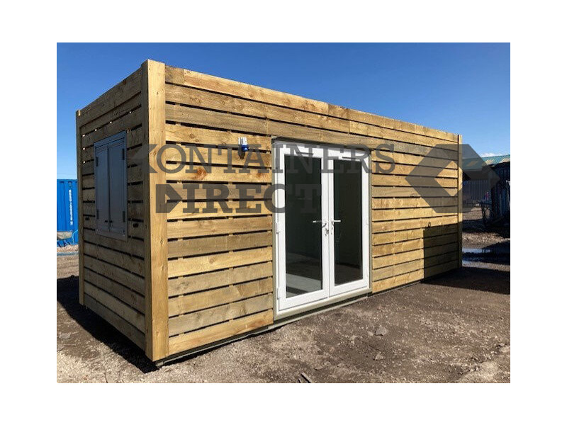 Shipping Container Conversions 20ft Eco Classroom click to zoom image