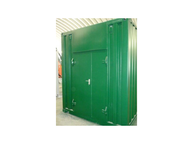 Shipping Container Conversions 20ft Biomass click to zoom image