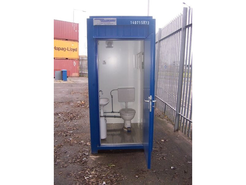 TOILET CABINS 5ft toilet cabin CTX05 click to zoom image