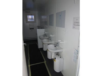 TOILET CABINS 20ft toilet cabin CTX20MFS click to zoom image