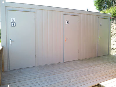 TOILET CABINS 20ft toilet cabin CTX20MFS