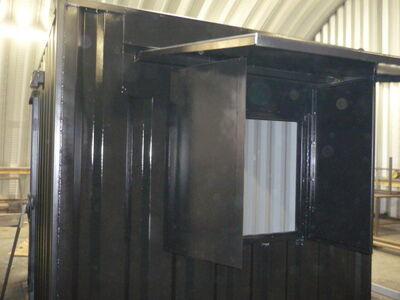 Shipping Container Conversions 10ft - roller shutter