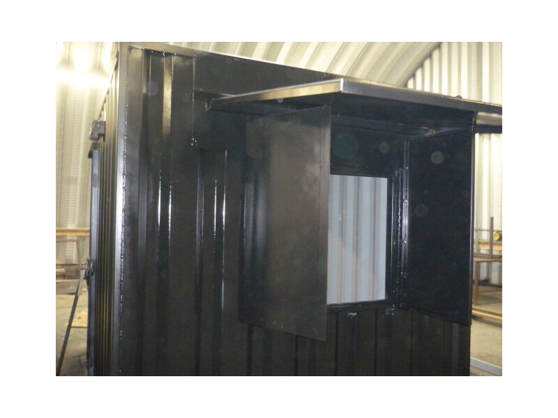 Shipping Container Conversions 10ft - roller shutter click to zoom image