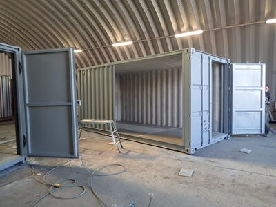 Shipping Container Conversions 2 x 18ft side joined