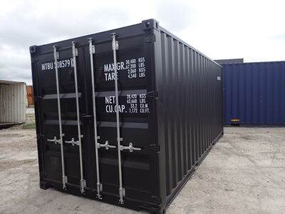 Shipping Container Conversions 20ft ply lined and repainted