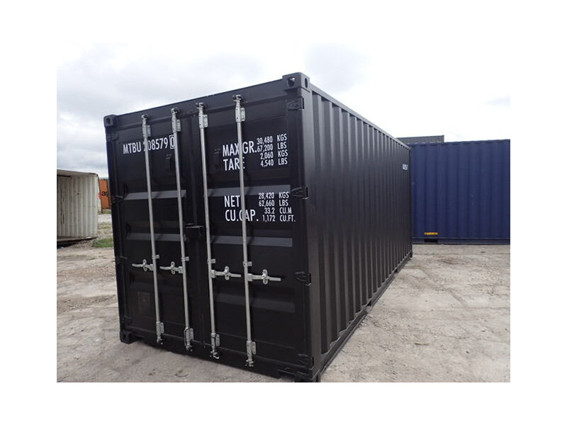 Shipping Container Conversions 20ft ply lined and repainted click to zoom image