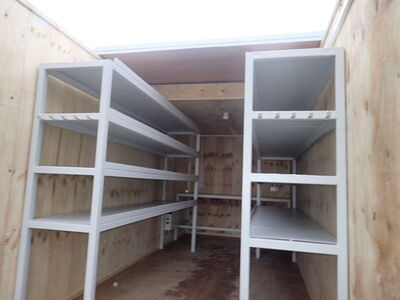 Shipping Container Conversions 20ft Sliding roof click to zoom image