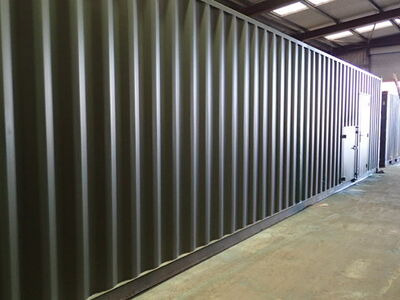 Shipping Container Conversions 40ft Biomass