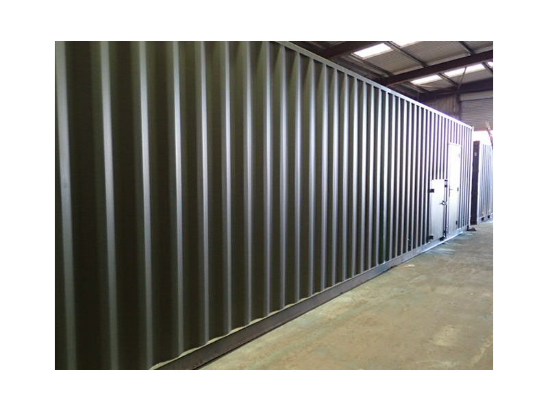 Shipping Container Conversions 40ft Biomass click to zoom image