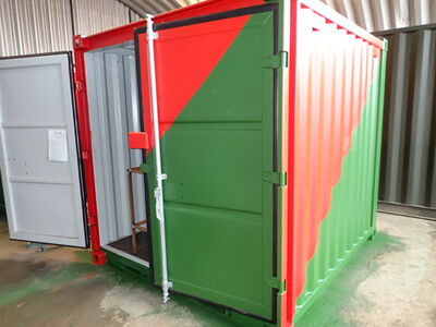 Shipping Container Conversions 8ft workshop