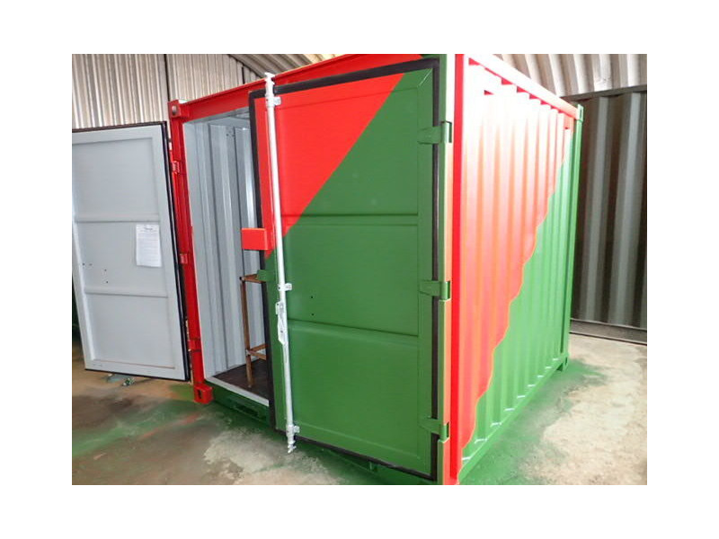 Shipping Container Conversions 8ft workshop click to zoom image