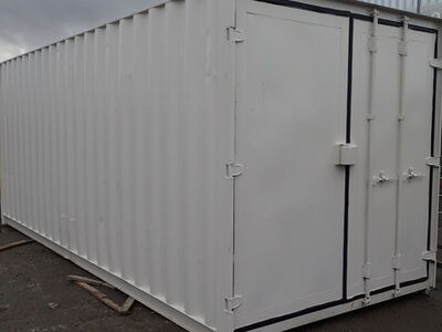 Shipping Container Conversions 20ft S3 doors, ply lined, electrics and shelving