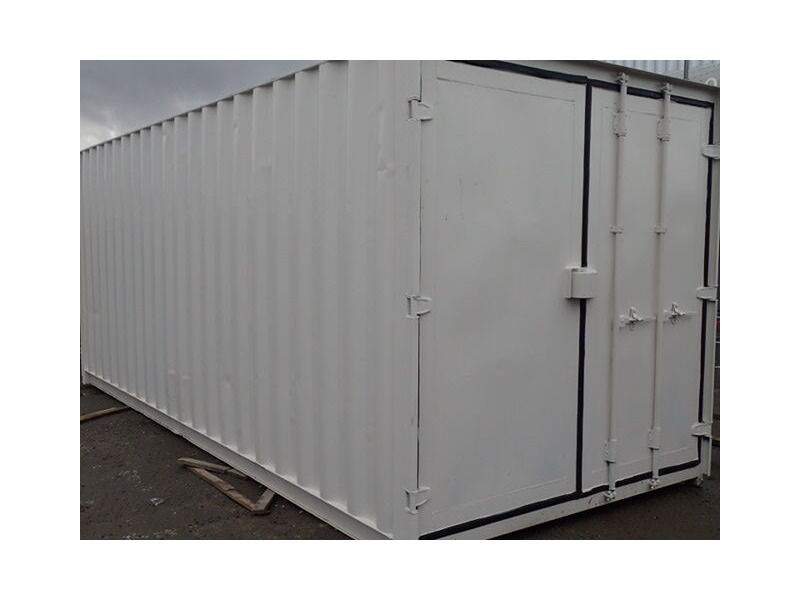 Shipping Container Conversions 20ft S3 doors, ply lined, electrics and shelving click to zoom image