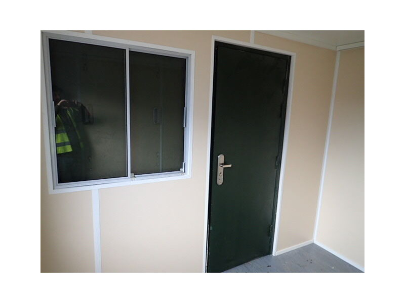 CONTAINER CONVERSION CASE STUDIES 10ft Office conversion CS28510 click to zoom image