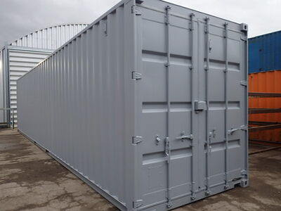 Shipping Container Conversions 40ft high cube, melamine lined