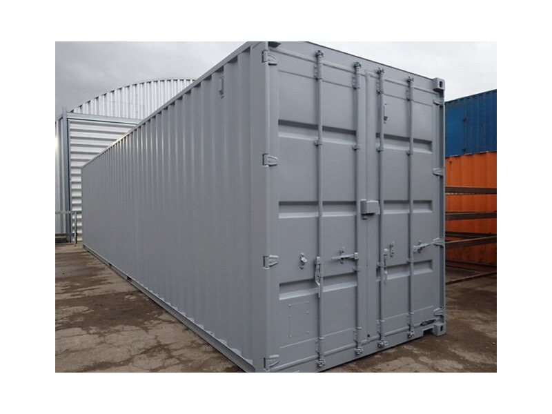 Shipping Container Conversions 40ft high cube, melamine lined click to zoom image