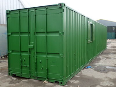 Shipping Container Conversions 40ft office unit