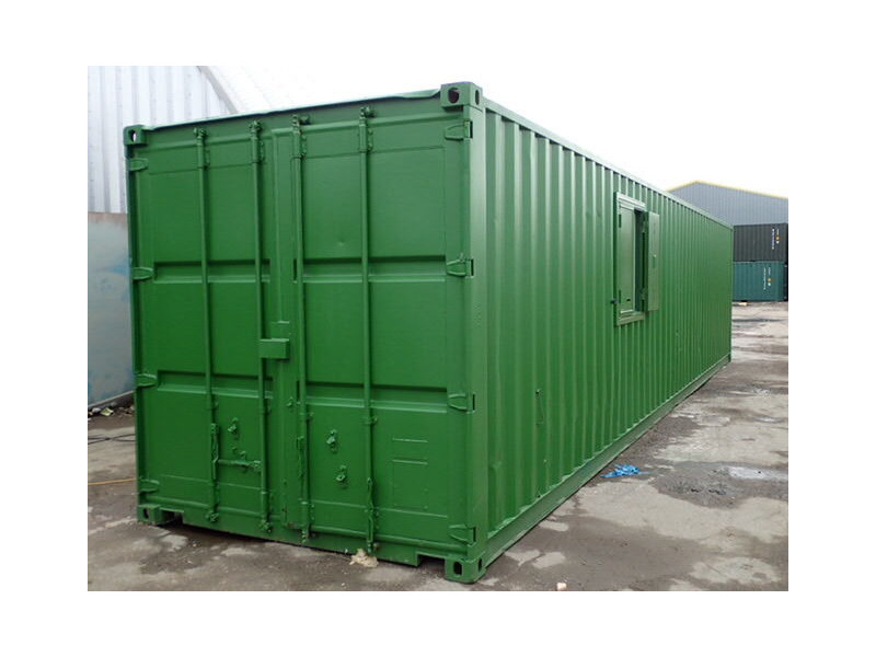 Shipping Container Conversions 40ft office unit click to zoom image