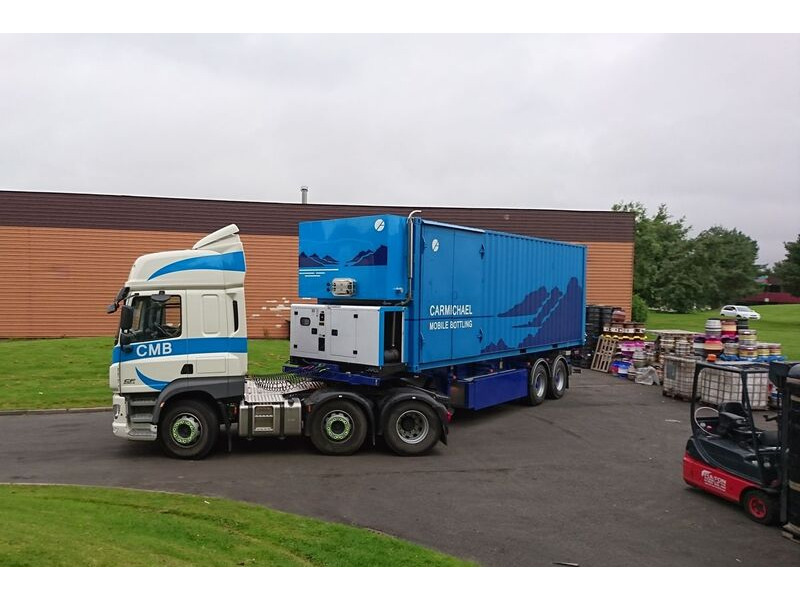 CONTAINER CONVERSION CASE STUDIES 30ft mobile bottling unit click to zoom image