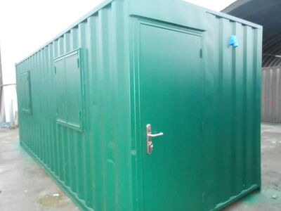 Shipping Container Conversions 21ft staff canteen