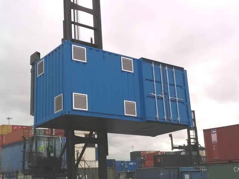Shipping Container Conversions 20ft Falcon click to zoom image
