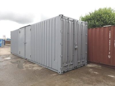 CONTAINER CONVERSION CASE STUDIES 30ft high cube, pallet wide with ramp