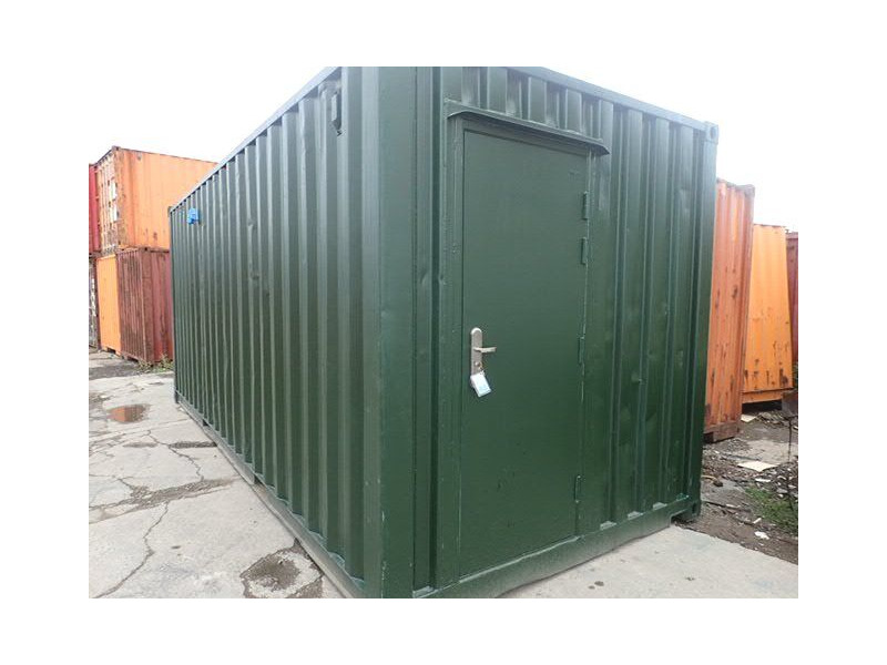 Shipping Container Conversions 20ft ply lined with non slip floor plate click to zoom image
