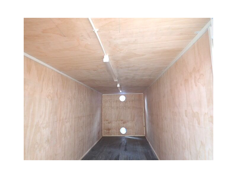 Shipping Container Conversions 25ft ply lined with electrics click to zoom image