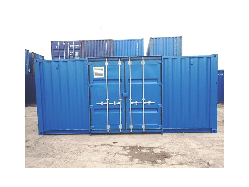 CONTAINER CONVERSION CASE STUDIES 20ft Falcon Chemical Store click to zoom image