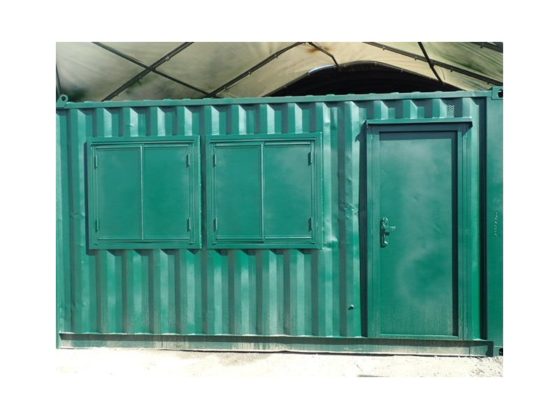CONTAINER CONVERSION CASE STUDIES 15ft workshop CS33460 click to zoom image