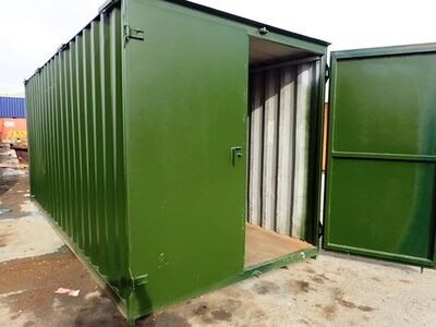 Shipping Container Conversions 18ft tool store