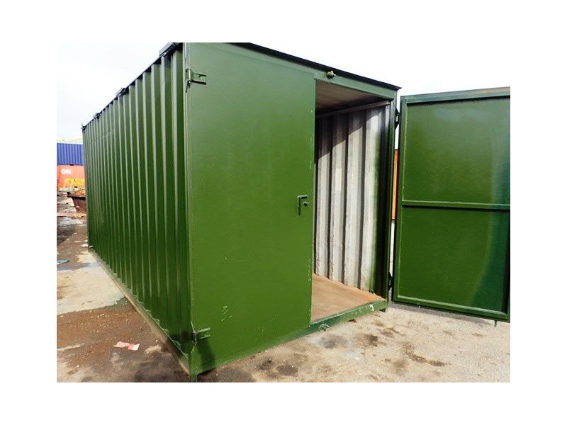 CONTAINER CONVERSION CASE STUDIES 18ft tool store click to zoom image
