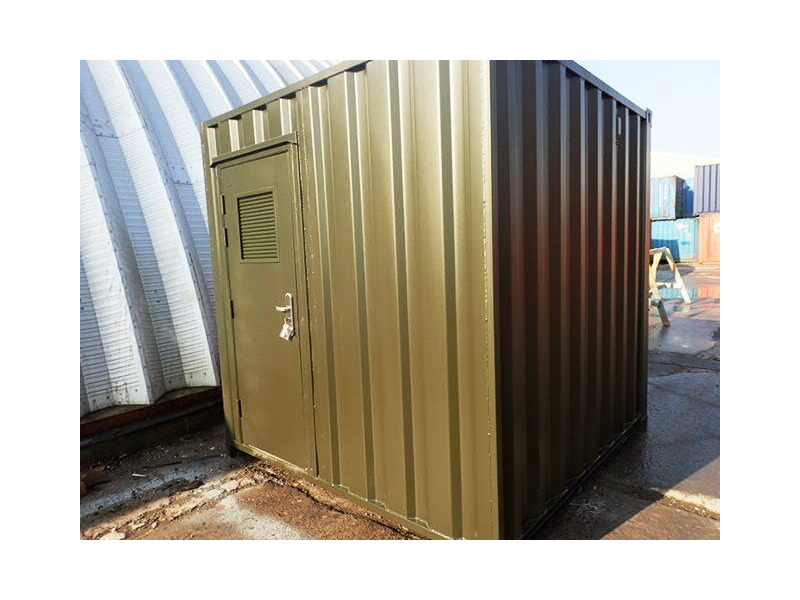 Shipping Container Conversions 8ft biomass energy unit click to zoom image