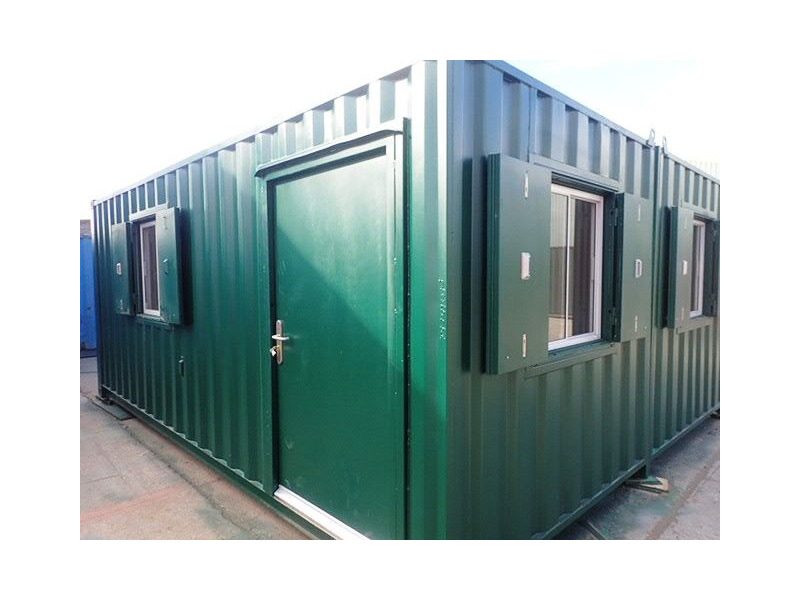 Shipping Container Conversions 2 x 20ft side joined clubhouse click to zoom image