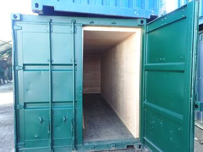 Shipping Container Conversions 2 x 20ft ply lined store