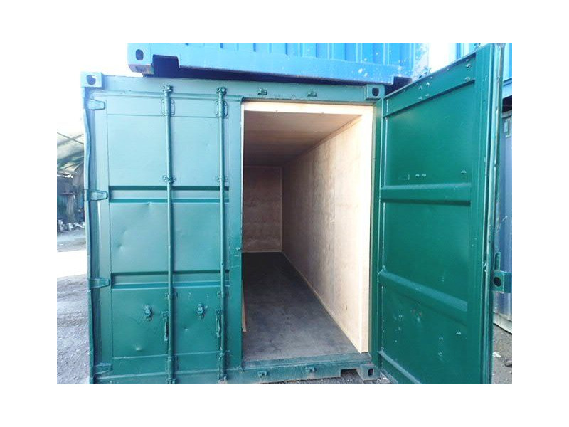 Shipping Container Conversions 2 x 20ft ply lined store click to zoom image
