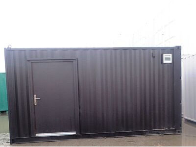 Shipping Container Conversions 16ft pizza oven house