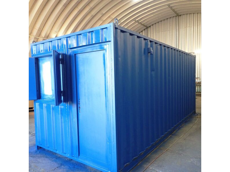 Container Conversions 20ft office and store click to zoom image