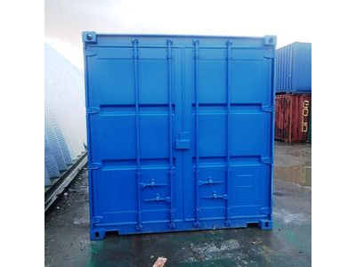 Shipping Container Conversions 12ft pump store