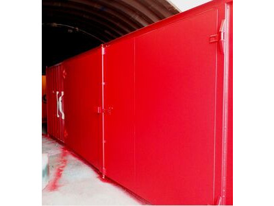CONTAINER CONVERSION CASE STUDIES 30ft with 16ft wide side doors