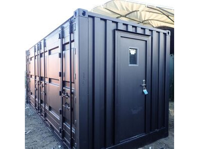 Shipping Container Conversions 20ft full side access