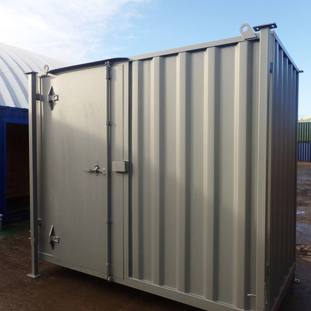 Container conversion case studies 10ft x 5ft construction for Construction container