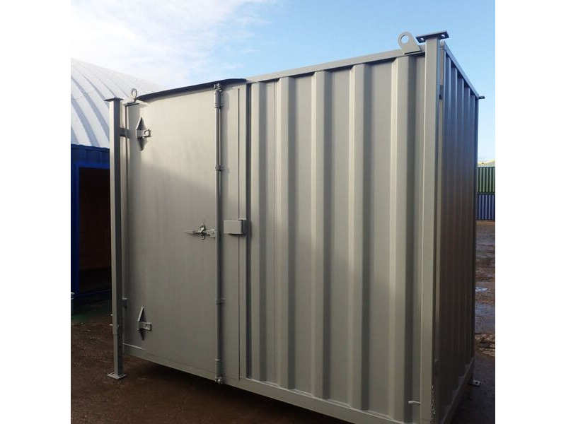 Shipping Container Conversions 10ft x 5ft construction site store click to zoom image